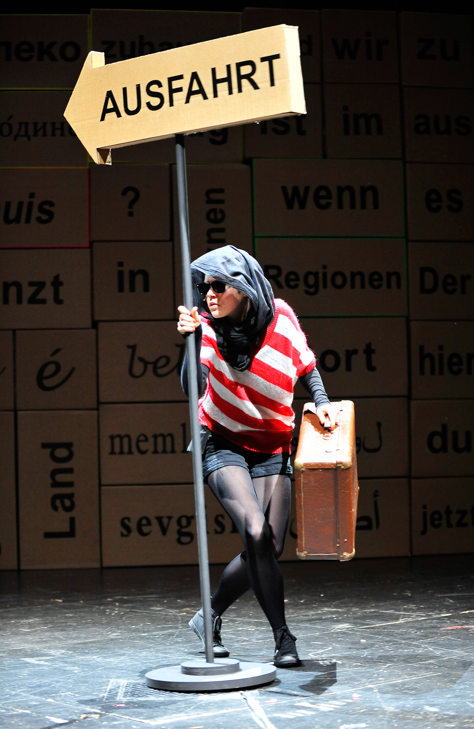 Theater Freiburg. Foto: Matthias Kolodziej