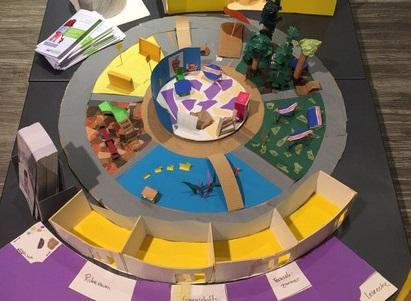 Architektur-Modellbauwettbewerb Für Schulen SCHLOSS.BERG.STADT