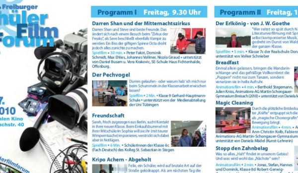 10. Freiburger SchülerFilmForum