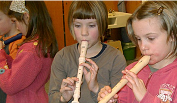 Blockflötenkreis An Der Emil-Thoma-Grundschule