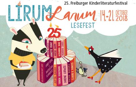 Jubiläum: 25 Jahre Lirum Larum Lesefest Vom 14. Bis 21. Oktober 2018